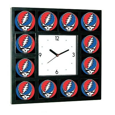 Grateful Dead promo around the Clock with 12 surrounding images