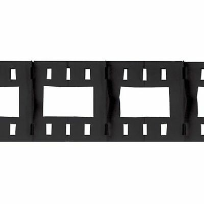 Filmstrip Garland - 12ft Long - Hollywood & Movie Night Wall Party Decoration