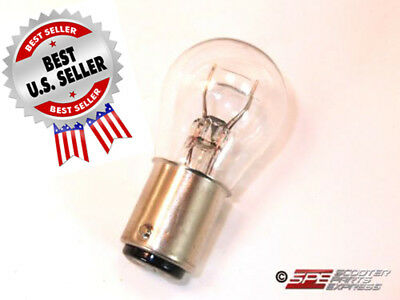 Bulb 1157 Dual Filament Tail Light Bulb Scooter Moped ~ US Seller