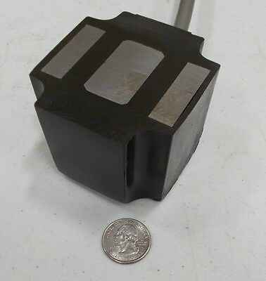 Vibratory Feeder Coil Electromagnet that will lift 460 pounds @24VDC A01DC