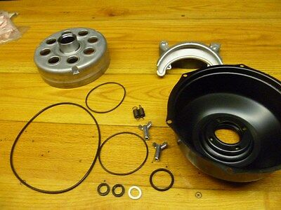 HONDA TRX 300 TRX300 4X4 2X4 4X2 TRX300FW REAR BRAKE DRUM, TIN COVER, SHOES, kit