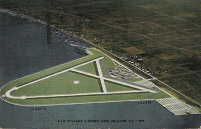 Postcard New Orleans Airport New Orleans LA