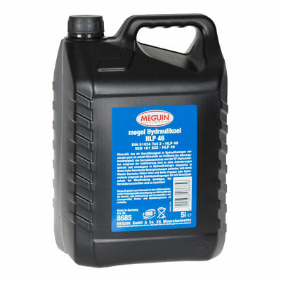 Meguin Hydrauliköl HLP 46 - 1x5 Liter - DIN 51524 - Made in Germany - ISO VG 46