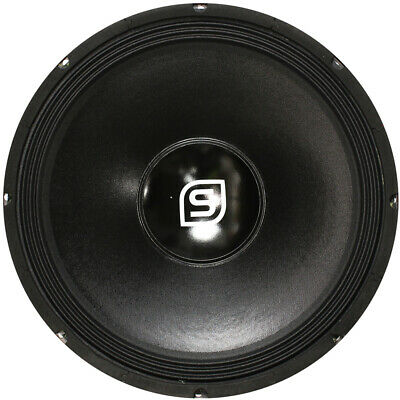 "Skytec SPS 15"" Black DJ PA Speaker Driver Spare Replacement Part Component 800W"