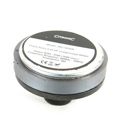 QTX SCREW IN Horn Replacement Spare Compression Speaker Driver 70W