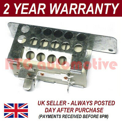 For Ford Transit Heater Blower Fan Resistor Motor Air Con Conditioning