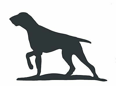 Running Fox Silhouette in Mild Steel for Weather vanes or Features in Gates