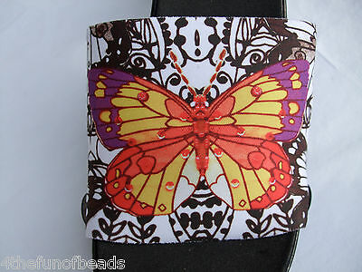 "Onesole Interchangeable Shoe Tops /""Mosaic Butterfly/"" CLOSE OUT"