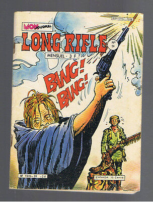 LONG RIFLE N°24  mon journal 1980