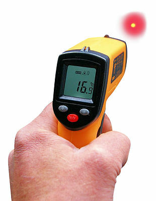 Non-contact LCD Infrared laser digital thermometer gun GM320 -50~330° C