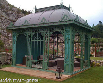 gazebo pavillon gartenhaus gew chshaus orangerie. Black Bedroom Furniture Sets. Home Design Ideas