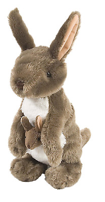 "Wild Republic Cuddlekins 12"" Kangaroo Plush Soft Toy Cuddly Teddy 10935"