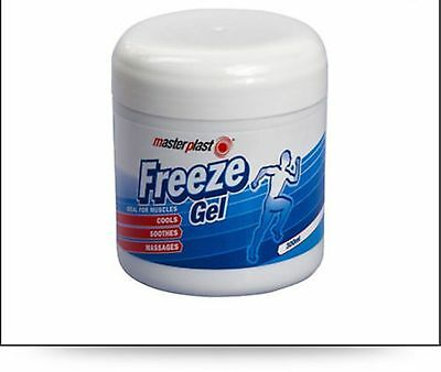 MASSAGE MUSCLE RUB FREEZE COOLS SOOTHES GEL300ml NEW