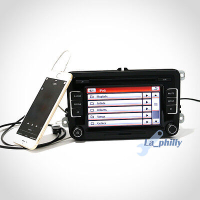 Car Radio RCD510 with USB & Reverse Image for VW Golf Mk5/6 Tiguan Passat