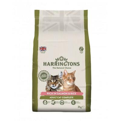 Harringtons Complete Adult Salmon with Rice Cat Food