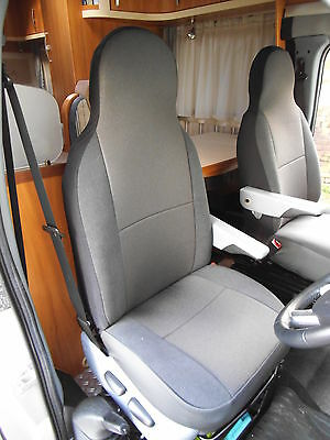 Fiat Ducato Motorhome Seat Covers Georgina Two Fronts Mh307