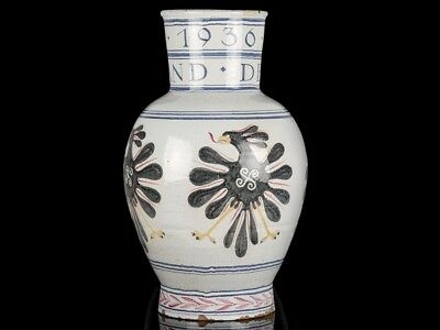1936 Berlin Olympics Specially Commissioned Large Faience Vase