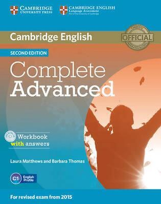 Complete Advanced Workbook with Answers with Audio CD by Laura Matthews (English
