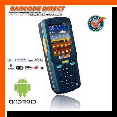 Palmare Industriale Android Wireless Rugged Barcode Codici A Barre