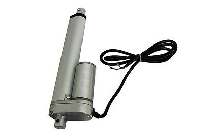 Heavy Duty Linear Actuator 6 Inch Stroke 225lb Max Lift Output 12-Volt DC