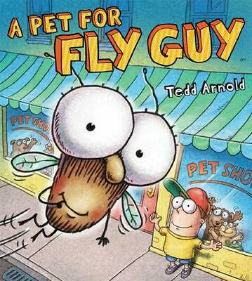 A Pet for Fly Guy by Tedd Arnold (English) Hardcover Book Free Shipping!