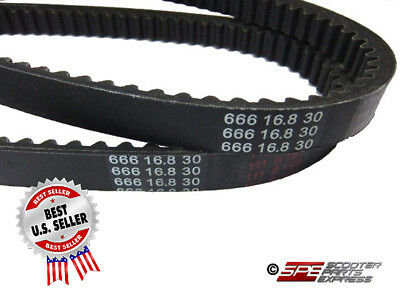 666-16.8-30 BELT SUZUKI MOTO MORINI AD50 TGB R50/R50X SCOOTER MOPED ~ US Seller
