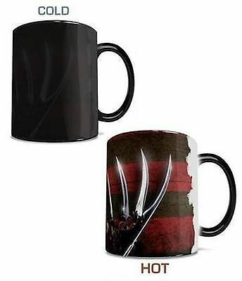 A Nightmare On Elm Street Freddy Glove & Shirt Morphing Mug