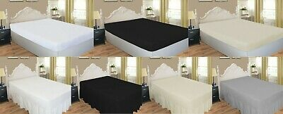Luxury Percale 200 Thread Count Fitted Sheet & Extra Deep Fitted Valance Sheets