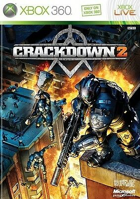 Crackdown 2 - XBOX 360 (Used, With Book)