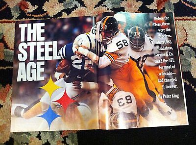 Sports Illustrated PITTSBURGH STEELERS The Steel Age Article Entire SI Issue