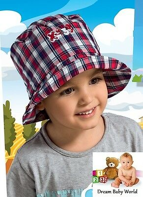 BOYS hat / sun bonnet SPRING / SUMMER - NEW - Toddler size 2 - 4 Years