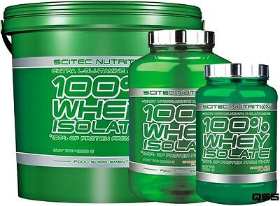 Scitec Nutrition 100% Whey Isolate Protein Shake 700G 2Kg 4Kg Extra Glutamine