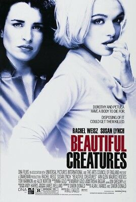 BEAUTIFUL CREATURES MOVIE POSTER 2 Sided ORIGINAL 27x40 RACHEL WEISZ