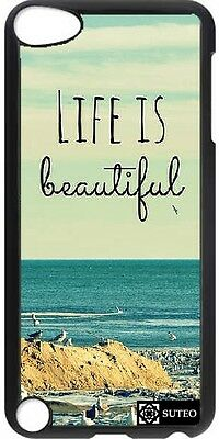 Coque Ipod Touch 5 - Life is Beautiful - ref 380