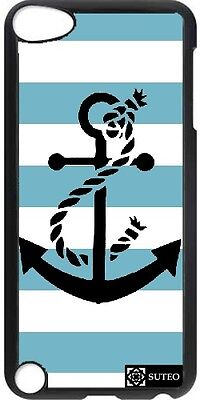 Coque Ipod Touch 5 - Ancre Marine - ref 721
