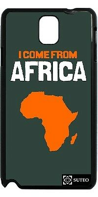 Coque Samsung Galaxy Note 3 - I Come From Africa - ref 248