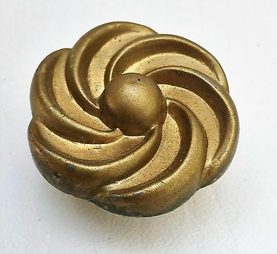 Brass Antique Hardware MCM ART DECO FRENCH COUNTRY Cabinet Knob Drawer Pull
