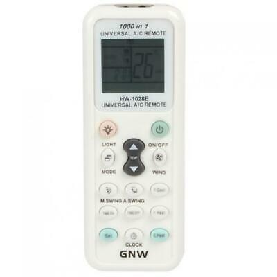 GNW K-1028E 1000 in 1 Universal A / C Remote Control For Air Conditioners