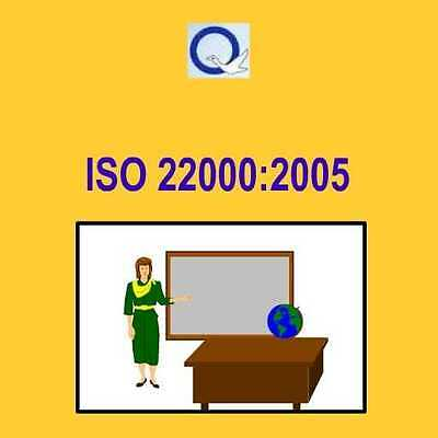 ISO22000:2005 Food Safety Management System & HACCP - Training Kit
