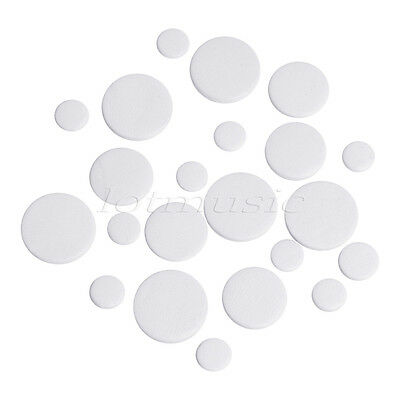 White Deluxe Bassoon Pads Top Grade Leather Pads Set