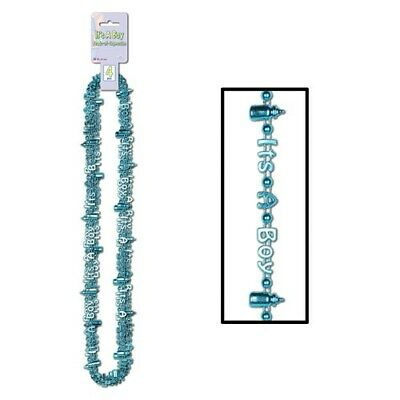 Baby Shower It's a Boy Beads of Expression 4 Per Pack