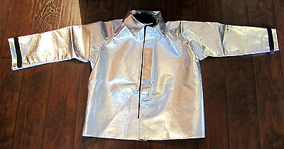 Unmarked Aluminized Coat With Fabric – Men'S Large – Thermal Environments - New