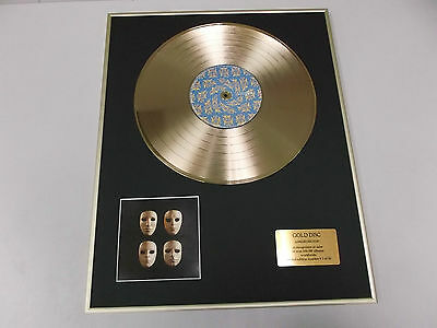 PINK FLOYD the wall,  live1 - DISCO DE ORO - CD  - GOLD DISC RECORD