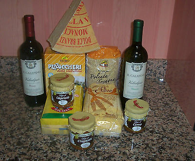 Packaging Products Combination Of Italian Cuisine