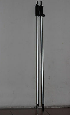 2PCS NEW 2.15m /7ft Prism pole for Leica type prisms total station surveying