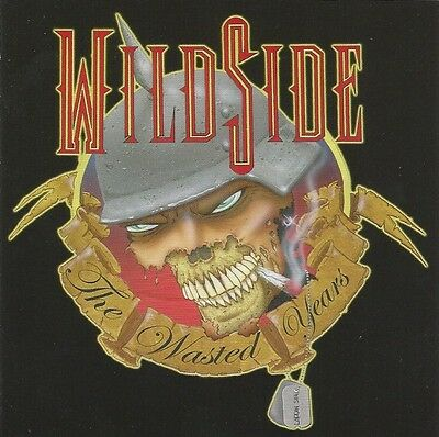 """Wildside """"The Wasted Years"""" factory CD Babylon AD Roxy Blue Ratt Warrant Poison"""