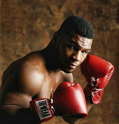 """02 Mike Tyson - American Professional Heavyweight Boxer 14""""x15"""" Poster"""