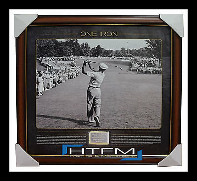 Ben Hogan One Iron US Open Limited Edition Print Framed 1,000 Only 18th Hole