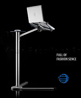 Laptop Floor/Bed Stand Height Adjustable & 360º Rotating