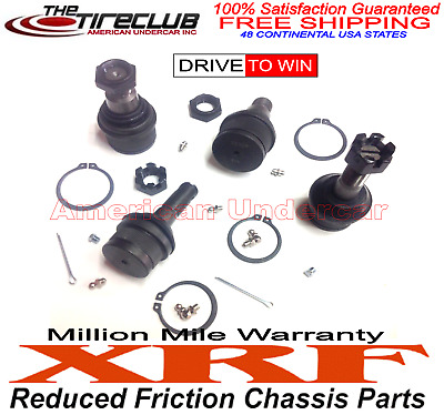 XRF Lifetime Kit Ford Excursion F250 F350 4x4 Super Duty 4 Ball Joints 99 - 16